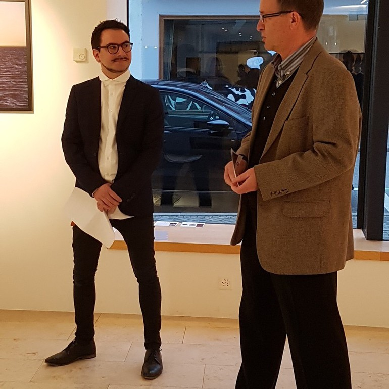 Damien Comment - vernissage